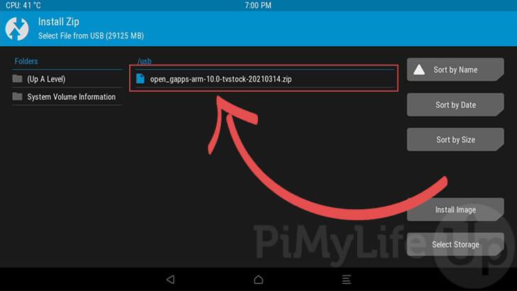 Instalar GApps en Android TV en Raspberry Pi