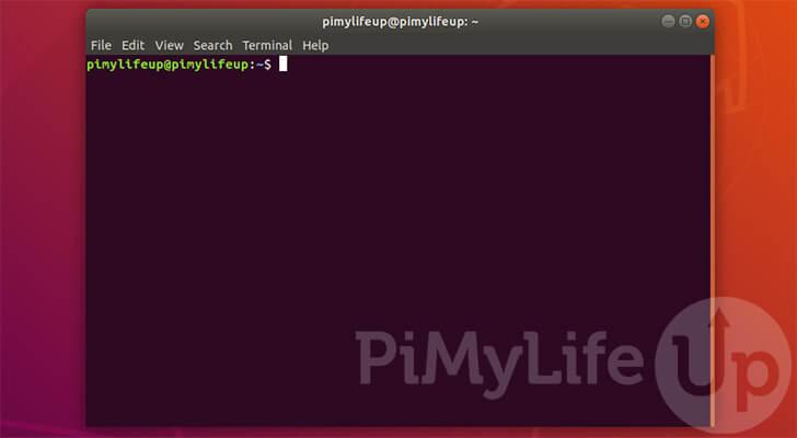 Abra la terminal en Ubuntu usando el atajo de teclado