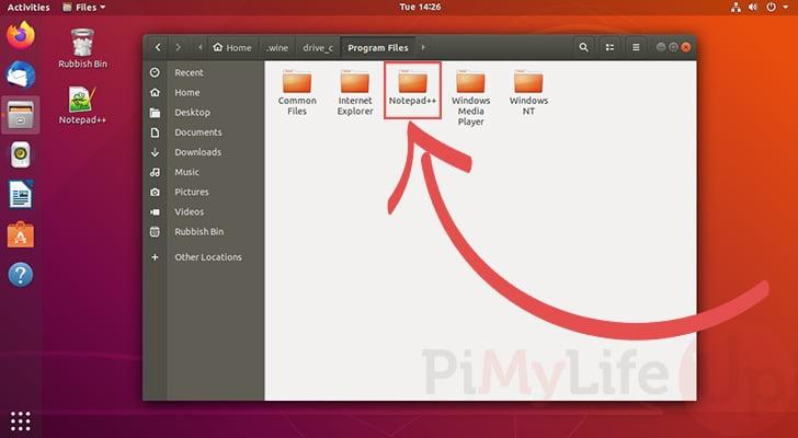Directorio Notepad Plus Plus