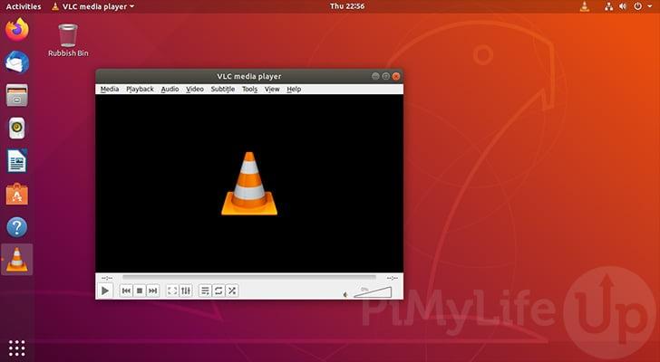 VLC se ejecuta con éxito en Ubuntu