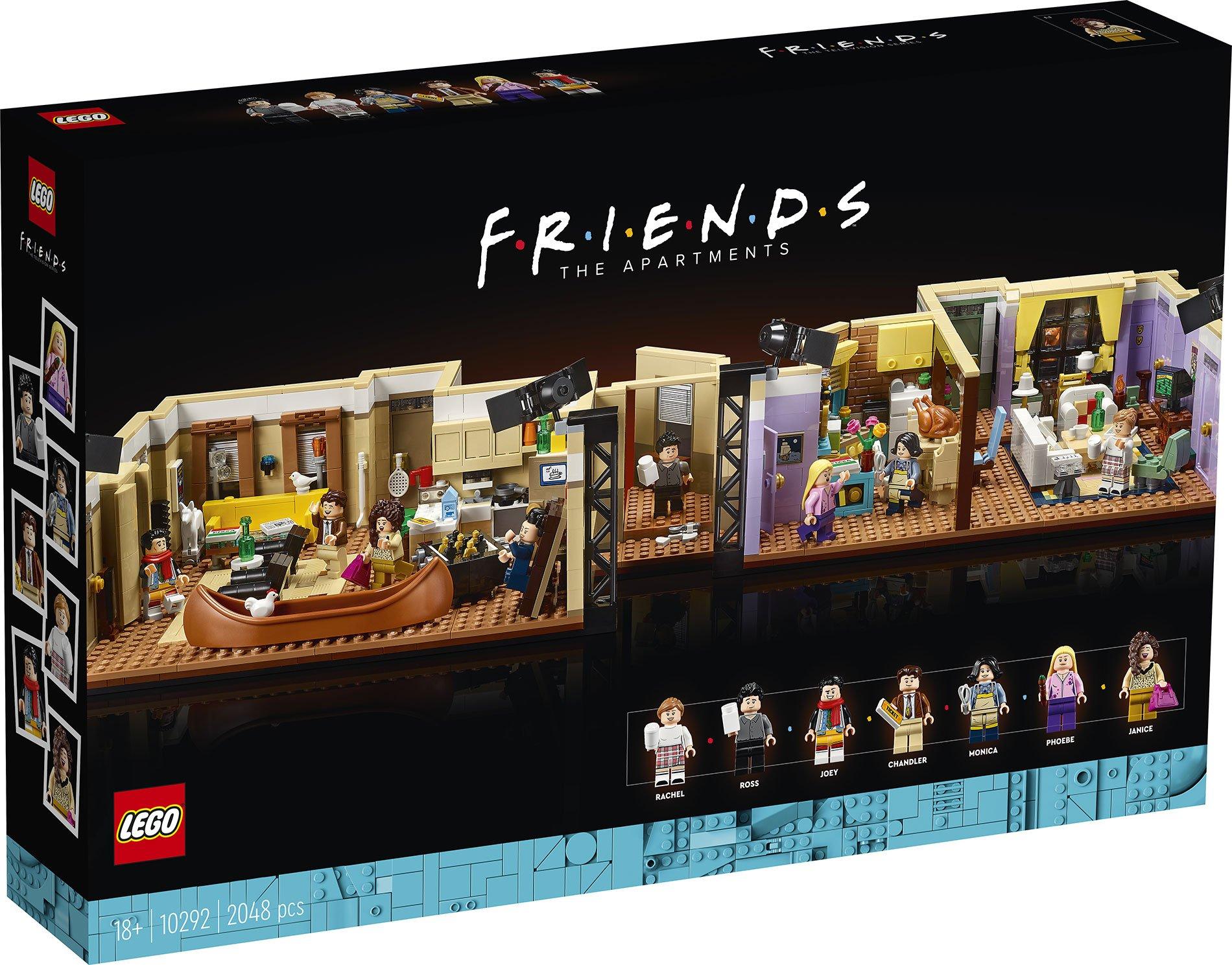 Apartamentos LEGO FRIENDS