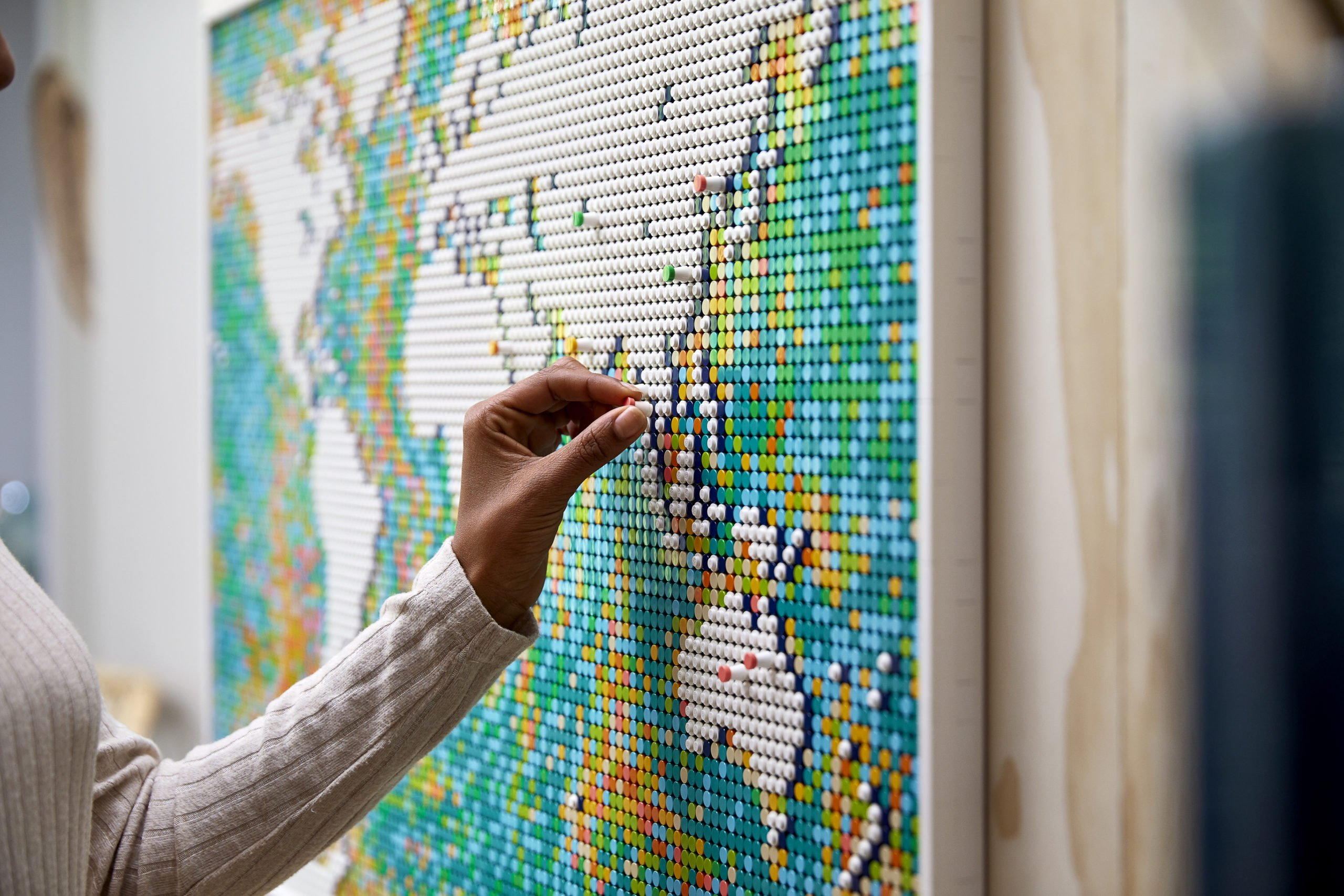 Mapa de Lego