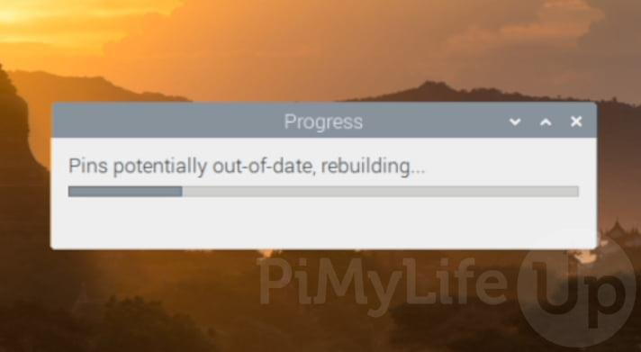 Los pines se están reconstruyendo